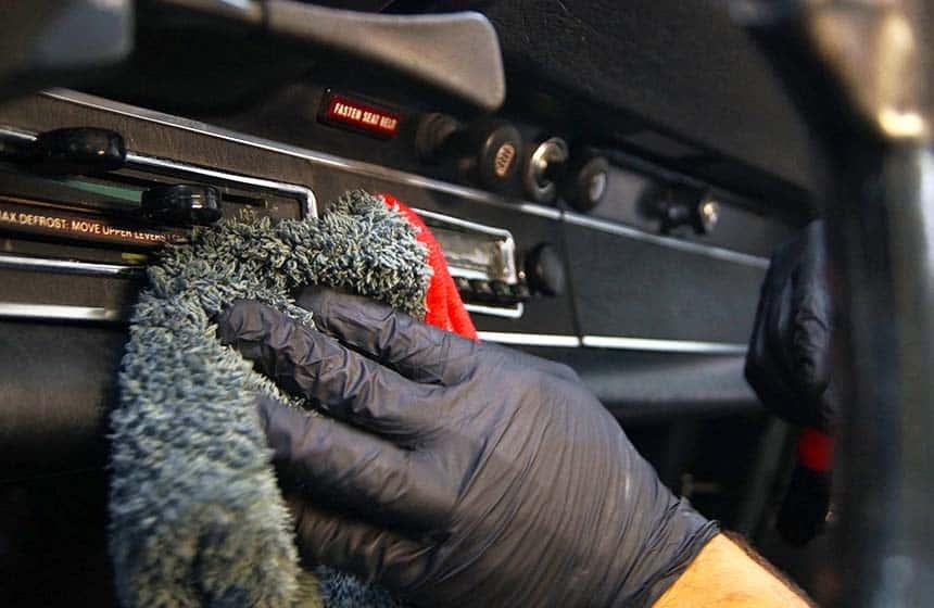 Autopflege und Interiorreinigung